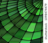abstract vector stained glass... | Shutterstock .eps vector #1098474479