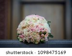 bright wedding bouquet for the... | Shutterstock . vector #1098475169