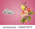 shabby chic vector illustration ... | Shutterstock .eps vector #1098479579