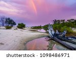 dramatic storm sky above indian ... | Shutterstock . vector #1098486971