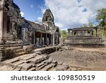 bayon temple in angkor thom ... | Shutterstock . vector #109850519