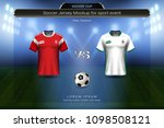 football cup 2018 group a ... | Shutterstock .eps vector #1098508121