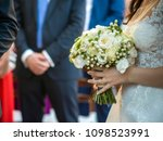 groom and bride together.... | Shutterstock . vector #1098523991
