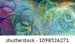 abstract background psychedelic ... | Shutterstock . vector #1098526271
