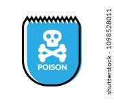poison and shield.protection... | Shutterstock .eps vector #1098528011