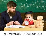 individual lesson concept.... | Shutterstock . vector #1098534005