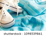 things for little boy  set of... | Shutterstock . vector #1098539861