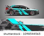 car decal sticker graphic vinyl   Shutterstock .eps vector #1098544565