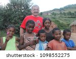 malagasy children posing with... | Shutterstock . vector #1098552275