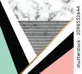 vector marble texture design... | Shutterstock .eps vector #1098552644
