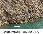 volcanic basalt rocks of rubini ...   Shutterstock . vector #1098553277