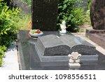 exclusive marble grave design  | Shutterstock . vector #1098556511