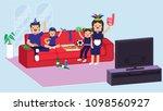 illustration vector flat... | Shutterstock .eps vector #1098560927