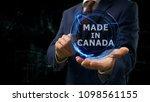businessman shows concept... | Shutterstock . vector #1098561155