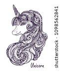 decorative ornamental zen...   Shutterstock .eps vector #1098562841