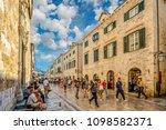dubrovnik  croatia   october 2...   Shutterstock . vector #1098582371