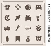 modern  simple vector icon set... | Shutterstock .eps vector #1098587411