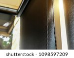dimout curtain in the restaurant | Shutterstock . vector #1098597209
