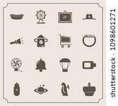 modern  simple vector icon set... | Shutterstock .eps vector #1098601271