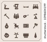 modern  simple vector icon set... | Shutterstock .eps vector #1098604199
