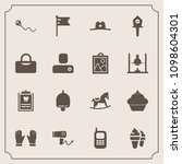 modern  simple vector icon set... | Shutterstock .eps vector #1098604301