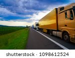 germany traffic jam in a road... | Shutterstock . vector #1098612524