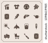 modern  simple vector icon set... | Shutterstock .eps vector #1098619985