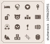modern  simple vector icon set... | Shutterstock .eps vector #1098620951