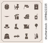 modern  simple vector icon set... | Shutterstock .eps vector #1098622235