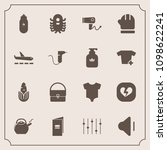 modern  simple vector icon set... | Shutterstock .eps vector #1098622241