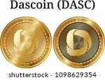 set of physical golden coin...   Shutterstock .eps vector #1098629354