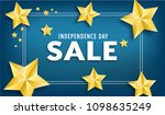 independence day sale vector... | Shutterstock .eps vector #1098635249