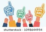 vector cartoon illustration of... | Shutterstock .eps vector #1098644954