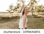 young  attractive and happy...   Shutterstock . vector #1098646841