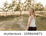 young  attractive and happy...   Shutterstock . vector #1098646871
