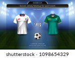 football cup 2018 group h ... | Shutterstock .eps vector #1098654329