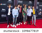 boy band bts attends the red... | Shutterstock . vector #1098677819