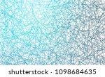 light blue vector geometric... | Shutterstock .eps vector #1098684635