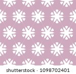 seamless simple geometric... | Shutterstock .eps vector #1098702401