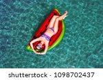 summer lifestyle portrait of... | Shutterstock . vector #1098702437