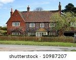 traditional english village... | Shutterstock . vector #10987207