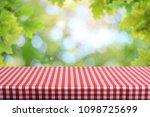 empty table background | Shutterstock . vector #1098725699