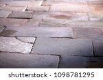 background stone floor | Shutterstock . vector #1098781295