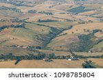 panorama on the marche hills... | Shutterstock . vector #1098785804