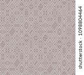 ethnic boho seamless pattern... | Shutterstock .eps vector #1098804464