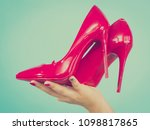 woman hand fashion stylist... | Shutterstock . vector #1098817865