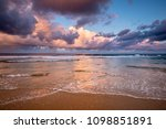 dramatic storm sky above indian ... | Shutterstock . vector #1098851891