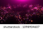 bright glowing circular... | Shutterstock . vector #1098904607