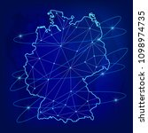 global logistics network... | Shutterstock .eps vector #1098974735