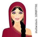 vector illustration of indian... | Shutterstock .eps vector #109897781